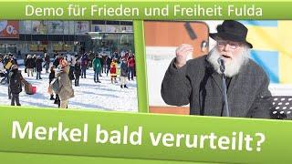 Demo Frieden und Freiheit Fulda/ 13.02.21/ Verfassungsnotstand, & Merkel bald verurteilt?