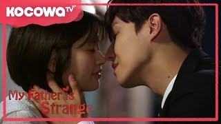 [My Father is Strange] Final Episode_Best Kiss Scene Ever!!!!