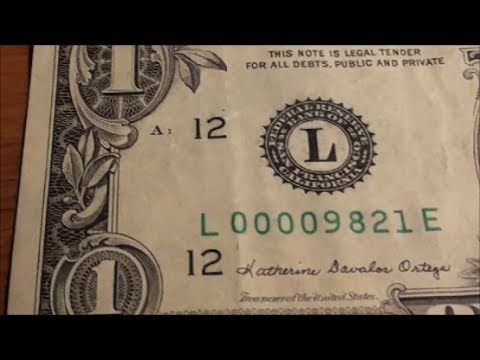 1 bill worth keeping old money you can find at the bank for Antique items worth a lot of money