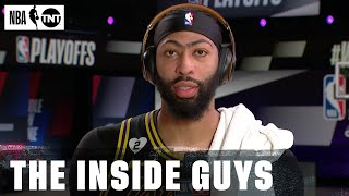 Anthony Davis Joins Inside After His Game-Winning Shot Against Denver in Game 2 | NBA on TNT