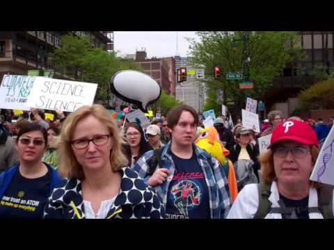 Thumbnail: March For Science Philadelphia Earthday April 22 2017