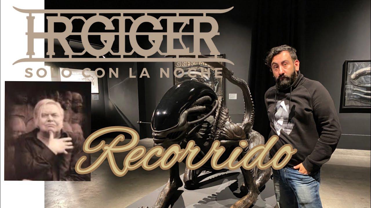 Conoce la exposición de H. R. GIGER el creador de Alíen