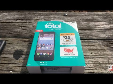 Alcatel TCL LX unboxing Specs review hands on total Wireless