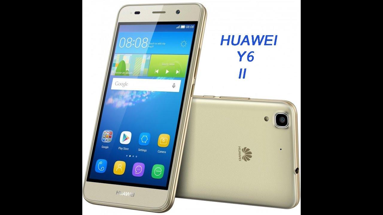 Huawei y6 ii -2017 - YouTube