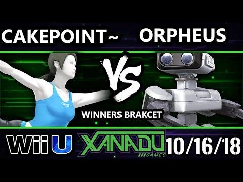 S@X 272 Smash 4 -  Cakepoint~ (Wii Fit Trainer) Vs.  Orpheus (Rob) - Wii U Winners Bracket