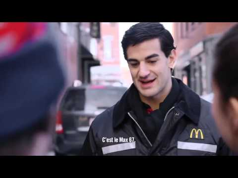 "Pub ""Max Pacioretty et McDonald's"" à Boston (Max 67)"