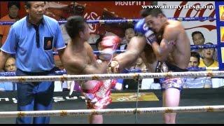 Muay Thai Fight – Kongsak vs Yodpanomrung, Rajadamnern Stadium Bangkok – 15th January 2015