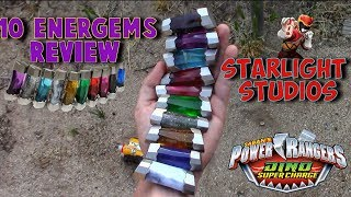Power Rangers Dino Super Charge Energems By Starlight.Studio Review