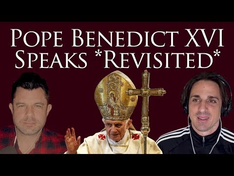 Pope Benedict Speaks REVISITED with Comments by Card. Müller (#245 Dr Marshall)