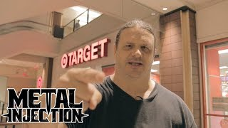 Corpsegrinder of CANNIBAL CORPSE Loves Clearance Shopping At Target | Metal Injection YouTube Videos