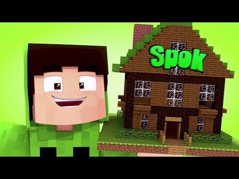 Minecraft : CASA DO SPOK !! - ( Youtubers Gigantes #04)