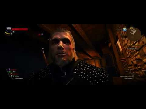 The Witcher 3 mod. British actor Henry Cavill as Geralt of Rivia with Netflix alternate amulet