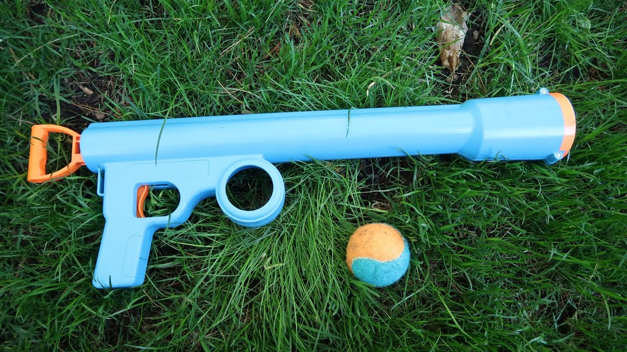 "Toys""R""Us Pets Doggie Kannon Ball Launcher Dog Toy - YouTube"