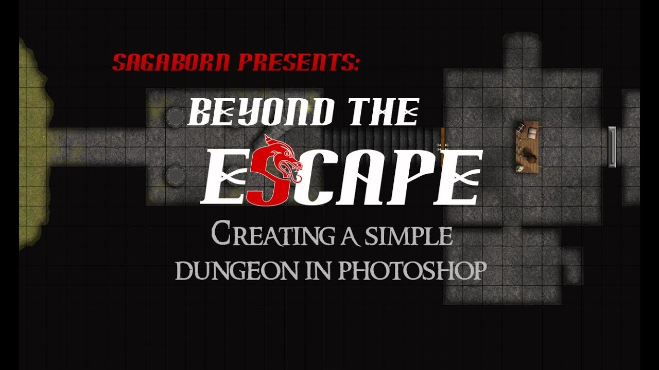 Creating a Dungeon Map in Photoshop | SagaBorn