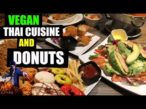VEGAN Thai Cuisine & Donuts | What I Ate Today