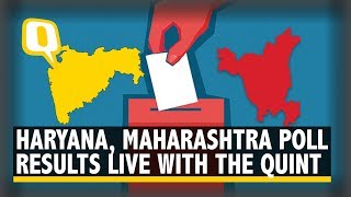 Watch The Maharashtra and Haryana Election Results Live with The Quint