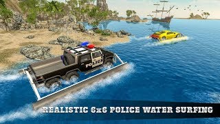 6x6 Police Water Surfer Gangster Chase - Android Gameplay - Free Car Games To Play Now