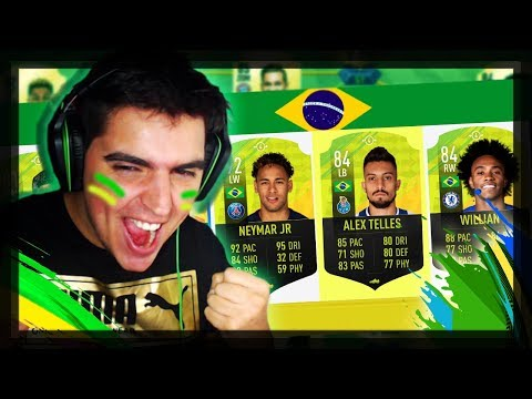 FUT DRAFT DOS BRASILEIROS   FIFA 19