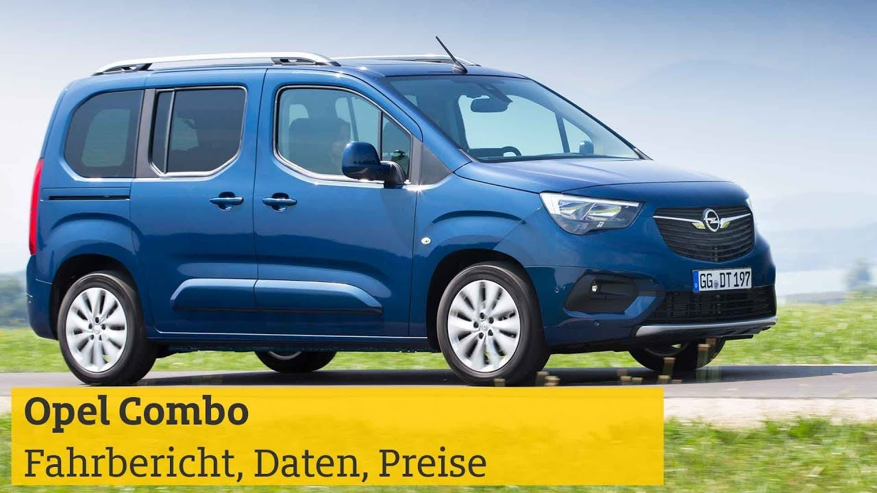 Opel Combo Test Crash Note Video Daten Preise Adac 2019