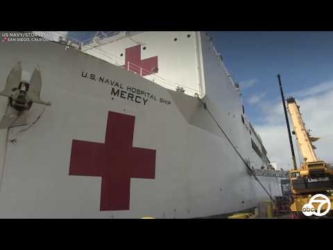 Take A Look Inside The 1000-bed U.S. Navy Ship Mercy