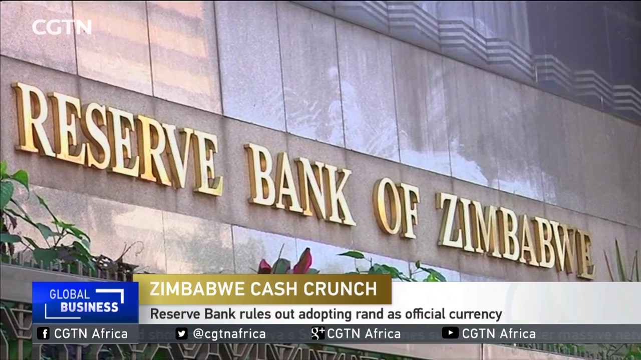 Zimbabwe Reserve Bank Rules Out Adopting Rand As Official Currency