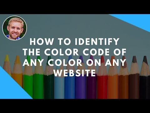 How To Identify The Color Code Of Any Color On Any Website