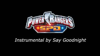 Power Rangers S.P.D Theme (Karaoke Version)
