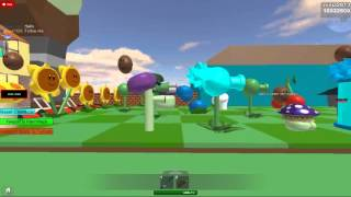 Roblox:PLANT VS ZOMBIES the yard