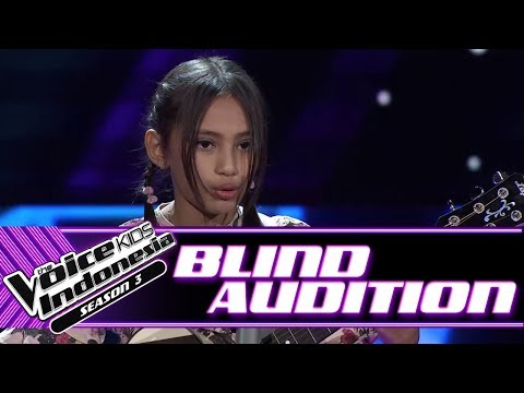 Sorenza - Casual Girl | Blind Auditions | The Voice Kids Indonesia Season 3 GTV 2018