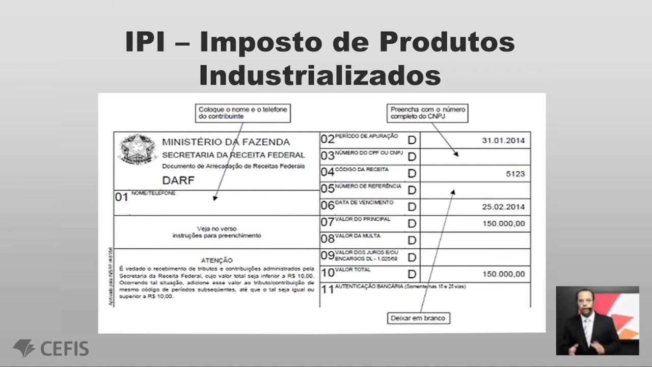 Darf 6621: receita federal, código para pagamento, significado, valor.