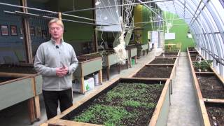 73. Passive solar greenhouse: A way to produce more local food and use less energy to do it