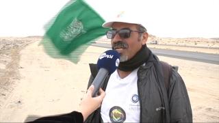 أخبار خاصة - الرحالة السعودي القحطاني يصل إلى مشارف الرياض منهيا رحلته الخليجية