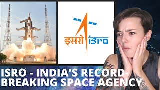 ISRO - India's Record-Breaking Space Agency | REACTION!!