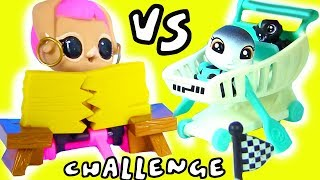 ЧЕЛЛЕНДЖ ЛОЛ ПИТОМЦЕВ vs ЛПС ПЭТОВ LOL SURPRISE PETS VS LPS Littlest Pet Shop Challenge Игрушки