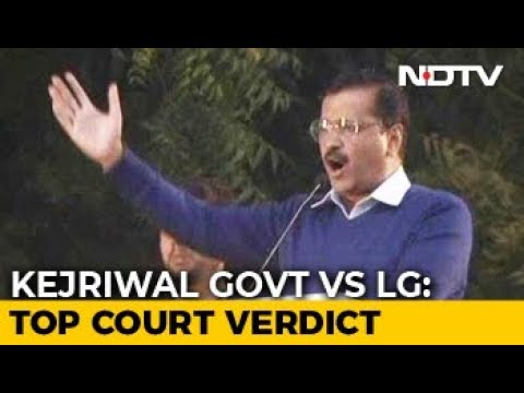 In Delhi Tug-Of-War, Blow For AAP, Top Court Split On Officers Mp3