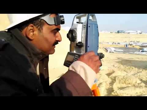 How to Set Sokkia Total Station with Resection in Urdu/Hindi