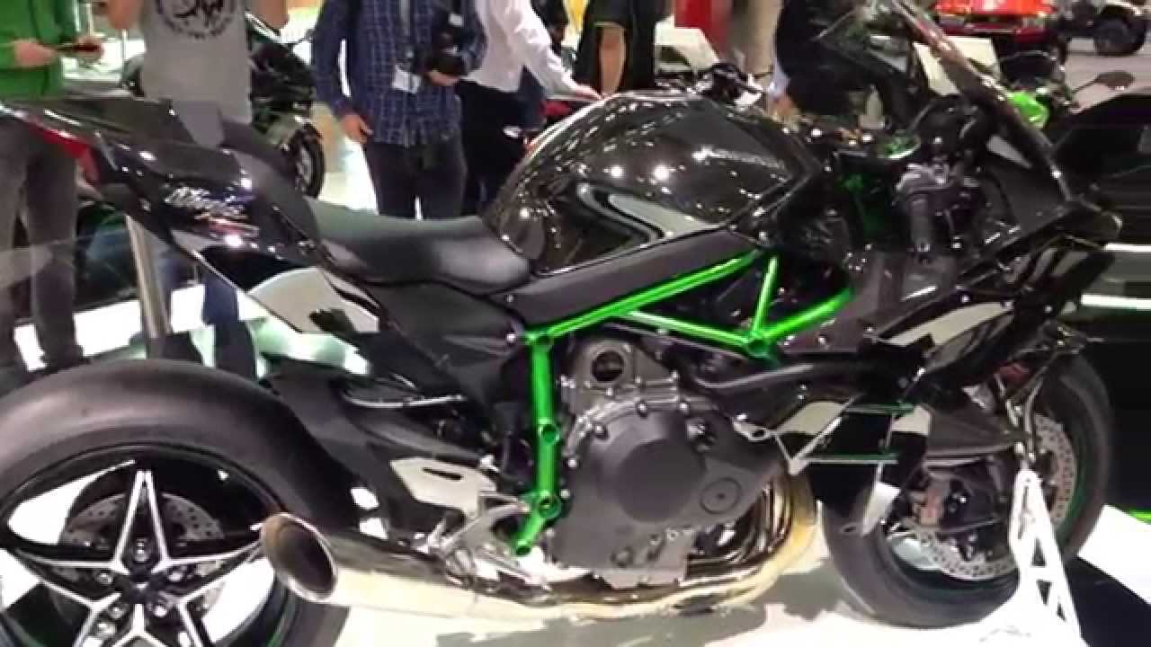 kawasaki ninja h2 r turbo at intermot youtube. Black Bedroom Furniture Sets. Home Design Ideas