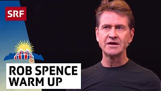 Rob Spence Warm-Up beim Arosa Humorfestival 2018