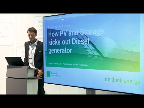 How PV and Storage kicks out Diesel generator