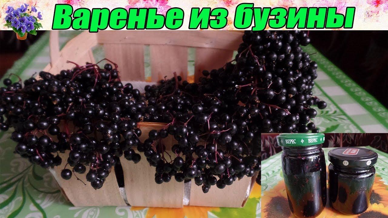 Варенье из черной бузины. - YouTube