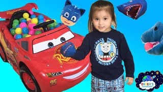 Pet Shark Pretend Playing Chase  Family Fun Activities for Kids with Evren Adventures ToysReview