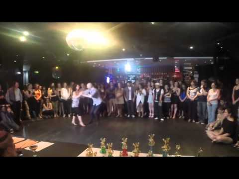 Adelaide's Best Social Dancer Competition Series 2014 - Finals - Salsa - Paul and Pascal