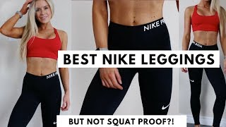 Nike vs. Lululemon Leggings | Best Nike Leggings | NOT SQUAT PROOF?!