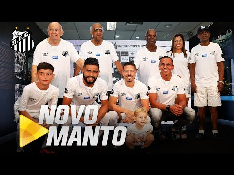 Os BASTIDORES do lançamento do NOVO UNIFORME do Santos