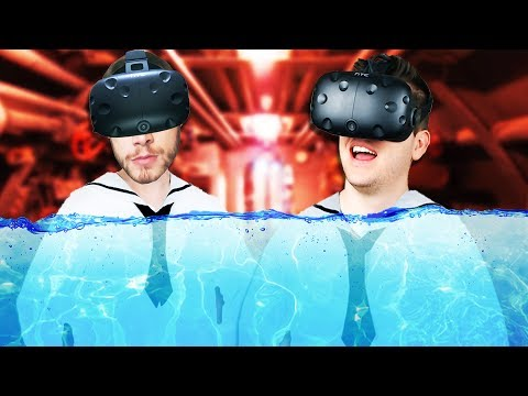 Virtual Reality Submarine Simulator! - IronWolf VR Gameplay
