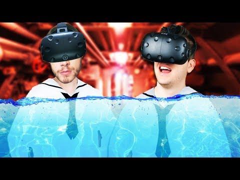 Virtual Reality Submarine Simulator! - IronWolf VR Gameplay - HTC Vive VR