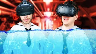 Virtual Reality Submarine Simulator! - IronWolf VR Gameplay - HTC Vive VR