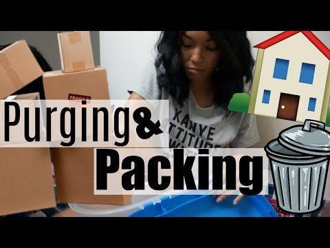 Pack with Me!!! With TIPS  Moving VLOG 2  Brittany Daniel