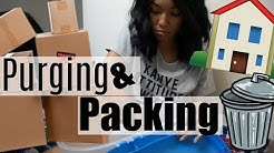 Pack with Me!!! (With TIPS) - Moving VLOG 2 | Brittany Daniel