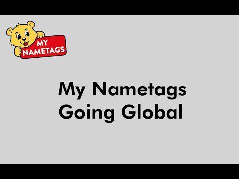 My Nametags Going Global